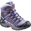 Salomon Junior XA Pro 3D Winter TS CSWP Shoes Thistle Grey/Nightshade Grey/Coral